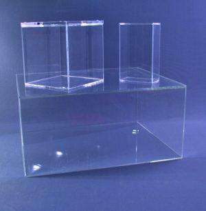 caja de metacrilato grandes con tapa